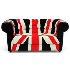 Union Chesterfield Loveseat now featured on Fab.