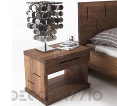 #wooden #wood #woodwork #furniture #furnishings #eco #design #interior #interiordesign #decoration #decor тумба прикроватная Riva 1920 Vera, Vera-Com1