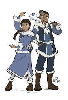 "Forja de Vida — gurihiru: Next Avatar Comic Series ""North and..."