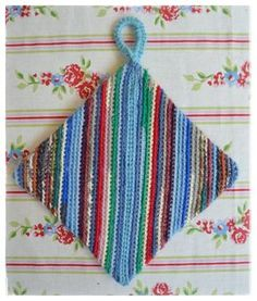 Sohvaneulomo: Vinoraitaneliö Some Ideas, Easy Knitting, Knit Crochet, Hello Kitty, Scrap, Blanket, Pattern, Diy, Inspiration