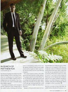 Matthew Fox Matthew Fox, Lost