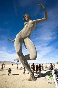 This place is a heaven on earth! All open-minded people should see what is going on at Nevada's desert!!! All artists and conscious people must be there at least once!