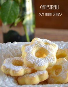 Il dolce in tavola: Canestrelli di riso