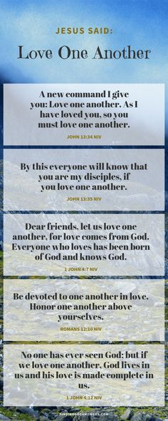 Love One Another - Finding God Among Us