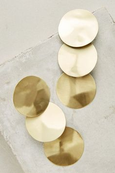 Discover unique statement earrings at Anthropologie, including the season's newest arrivals. Fashion Jewelry, Women Jewelry, Women's Fashion, Fashion Accessories, Gold Statement Earrings, Drop Earrings, Organic Shapes, Minimalist Jewelry, Jewelry Organization