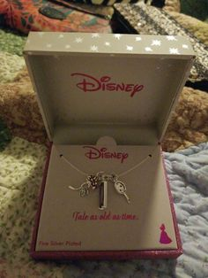 Necklace on Mercari Disney Necklace, Disney Tangled, Material Girls, Pandora Jewelry, Flamingo, Silver Plate, Gold Rings, Gift Wrapping, Chocolate