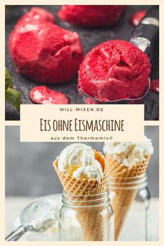 Lerne wie Du dank des Thermomix TM31 und TM5 Eis komplett ohne Eismaschine herstellen kannst. Viele Eisrezepte gibt es im will-mixen.de Blog.