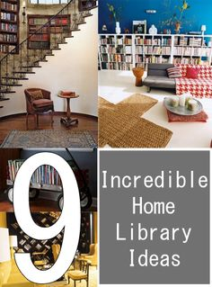 9 Incredible Home Library Ideas