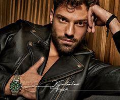 "Konstantinos Argiros RU on Instagram: ""😍❤ @argiros_konstantinos for LEDOM Watches @ledom.watches #Ledomxargiros #LEDOMFW19 #konstantinosargiros #argiros #argy #αργυρος #arguros…"""
