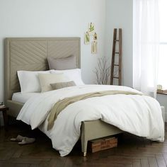 Alexa Upholstered Bed | West Elm