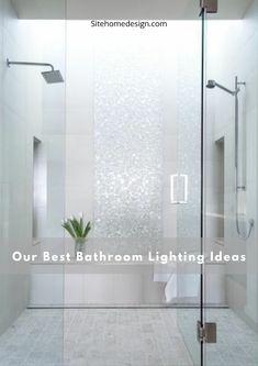20 Bathroom Illumination Ideas for Every Layout Style Best Bathroom Lighting, Amazing Bathrooms, Bathtub, Layout, Ideas, Style, Standing Bath, Swag, Bath Tub