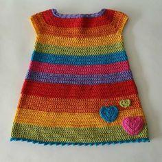 50 New And Easy To Make Free Crochet Pattern - happyfriday Crochet Toddler Dress, Crochet Baby Dress Pattern, Crochet Baby Clothes, Baby Knitting Patterns, Crochet For Kids, Crochet Top, Vestidos Bebe Crochet, Handmade Baby Quilts, Baby Sweaters