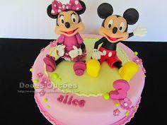 Doces Opções: O 3º aniversário da Alice com a Minnie e o Mickey