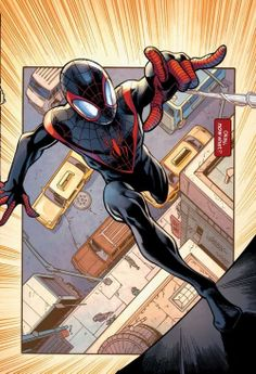 my home for all things Spider-man related; Spider-man and all related characters by courtesy and are property of Marvel comics Spiderman Art, Amazing Spiderman, Marvel Art, Marvel Heroes, Univers Marvel, Miles Morales Spiderman, Mark Bagley, Dc Comics Art, Comic Panels