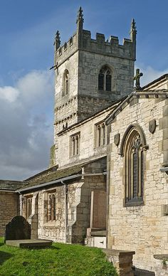St Wilfrid Church, Monk Fryston, Yorkshire - England