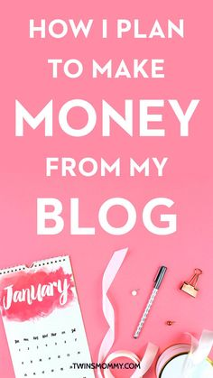 How I Plan to Make Money Blogging On a New Blog | Ahh! I can't believe it's been almost a year since I started my new blog. I want to make money from home and I know I can do it with a blog. Do you want to make money blogging? In this post I lay out the exact plan to make money online from using social media to email and more! Click here to read my plan and go ahead and steal it too!