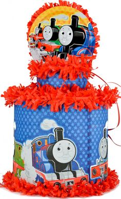 World of Pinatas - Thomas The Train Pinata, $27.99 (http://www.worldofpinatas.com/thomas-the-train-pinata/)