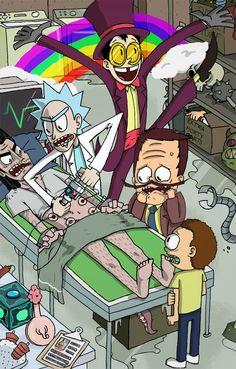 Rick and Morty,Рик и Морти, рик и морти, ,фэндомы,Warden,superjail,Rick Sanchez,Rick, Рик, рик, рик санчез,R&M Персонажи,Morty Smith,Морти, морти, Морти Смит, Morty,R&M crossover,Rick and Morty crossover, R&M кроссовер,R&M art,Rick and Morty art, R&M арт, Рик и Морти арт