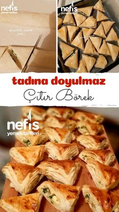 How to make a Crispy Pastry Recipe That You Can& Get Tasted? Illustrated explanation of this recipe in the book of 952 people and photos of those who have tried here. Author: Mutfak_sunum_aski_ for bedroom wohnung decoration dekorieren einrichten ideen Pastry Recipes, Turkish Recipes, Homemade Beauty Products, Snacks, Bread Baking, Brunch, Food And Drink, Vegetarian, Yummy Food