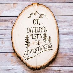To celebrate her family's love of travel, Katie of Addicted 2 DIY created this custom wall art using her woodburner and a store-bought slice of wood. Unbelievably, it was the DIY blogger's first time attempting a woodburning project. The secret to her steady hand? Tracing the design on paper, and then transferring it to the wood slice.