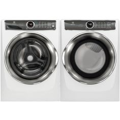Ft Front Load Perfect Steam Washer and Cu. Trois Rivieres, Gas Dryer, Laundry Appliances, Front Load Washer, Laundry Room Storage, Deep Cleaning, Washer And Dryer, Washing Machine, Cool Things To Buy