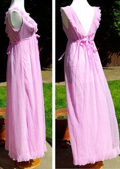 chiffon nightgown Nighties d20f5a2b7
