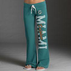 Women's Miami Dolphins Concept Sports Camo Knit Camo Pants