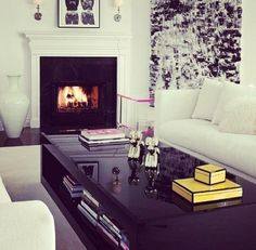 I LOVE this coffee table. And the rest of the room