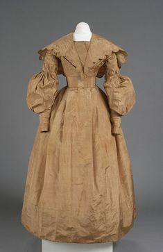 Wedding Dress and Pelerine Date Made 1835 Object Number 1911-10-0 Comment Worn by Mary Stone Bryan when she wed Samuel Peck in Orange, CT