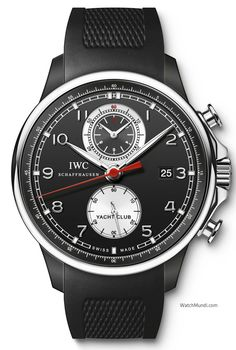 IWC - Portuguese Yacht Club Chronograph. Limited to 250 watches, available worldwide at IWC boutiques.