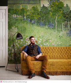 Vincent van Gogh behang van BN Wallcoverings, binnenkort bij Robben Verf & Wand in de winkel