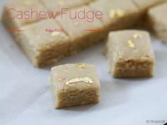 Cashew Fudge aka Kaju Katli recipe! So easy to make! #vegetarian #dessert #indian sweetCashew Fudge