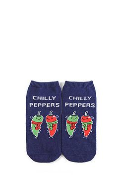 Chilly Peppers Ankle Socks