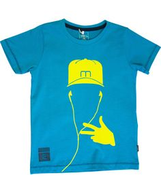 Name It groovy turquoise t-shirt for cool dudes. name-it.en.emilea.be