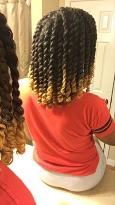 Love And Care For Healthy Hair: Ideas And Inspiration - Useful Hair Care Tips and Guide Natural Hair Care Tips, Natural Hair Journey, Natural Hair Styles, Twist On Natural Hair, Natural Hair Transitioning, Natural Twists, Transitioning Hairstyles, Natural Hair Growth, Natural Curls