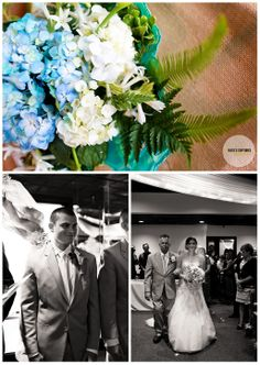 Indoor Wedding Ceremony | Pensacola, Florida Wedding Photography | Paul's on the Bay | Kate's Captures Photography 2013