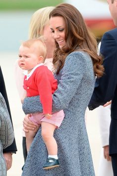 Kate Middleton Reveals Prince George Can Walk And Wants Him To Sail