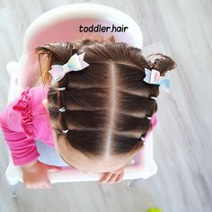 Criss-Cross Goddess Braids - 70 Best Black Braided Hairstyles That Turn Heads in 2019 - The Trending Hairstyle Toddler Braided Hairstyles, Easy Little Girl Hairstyles, Baby Girl Hairstyles, Easy Hairstyles, Black Hairstyles, Wedding Hairstyles, Toddler Hair Dos, Selena, Girl Hair Dos