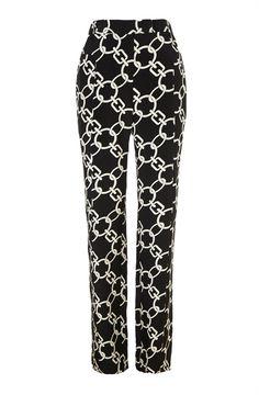 Whistles chain print trouser #NowTrending #ManUp   styloko.com