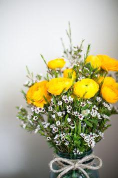 yellow ranunculus #flowers