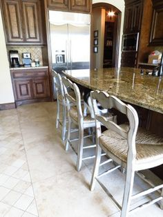 Luxury Country French Counter Stools