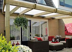 Pergola with solid roof Garden Canopy, Patio Canopy, Backyard Plan, Backyard Patio, Pergola With Roof, Pergola Plans, Garden Structures, Outdoor Structures, Outdoor Awnings