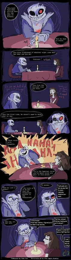 Horrortale: Date with Sans by Sour-Apple-Studios.deviantart.com on @DeviantArt