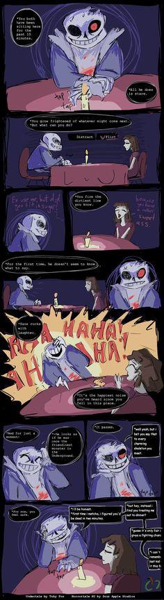 Horrortale: Date with Sans by Sour-Apple-Studios.deviantart.com on @DeviantArt
