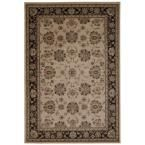 Ararat Ivory/Grey 5 ft. 3 in. x 7 ft. 4 in. Area Rug