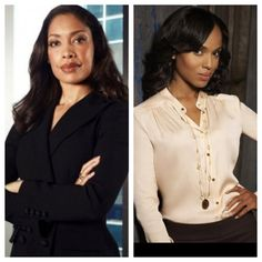 Jessica Pearson & Olivia Pope... best tv lawyers.