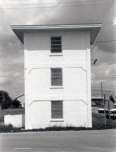 US Naval Ordnance Testing Facility Control Tower in Pender County, North Carolina.
