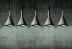 Foscarini's Concrete Aplomb Pendant Lamp Lichtstudio Eisenkeil I Marlengo I Bolzano I Brunico I Vomp
