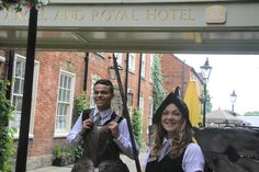 BEST WESTERN Angel & Royal Hotel, celebrating our history. Best Western, Angel, History, Celebrities, Dresses, Fashion, Celebs, Gowns, Moda