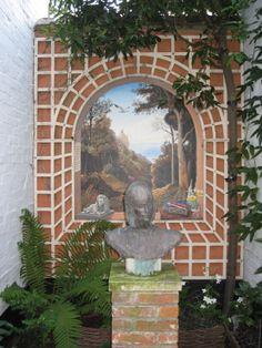 Aldeburgh garden mural.